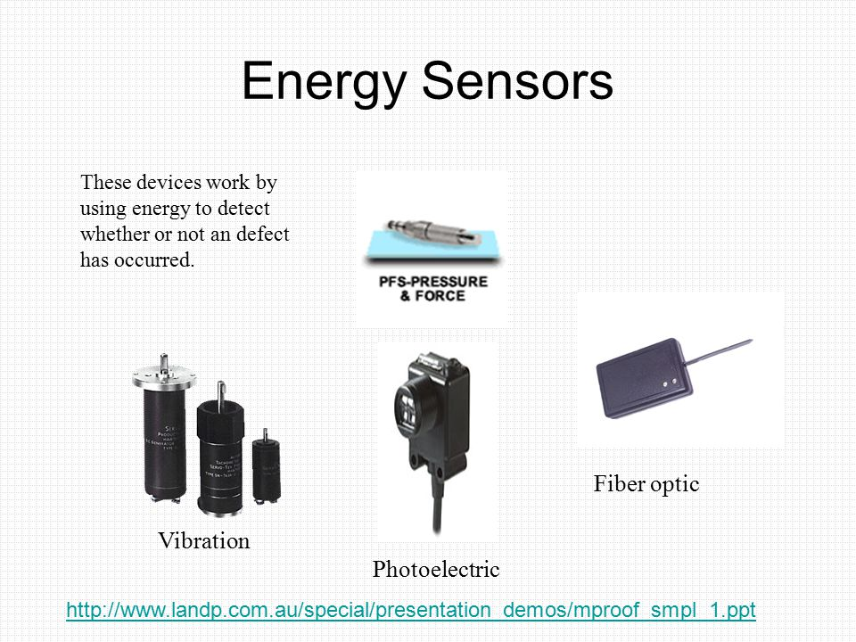 Energy Sensors Fiber optic Vibration Photoelectric