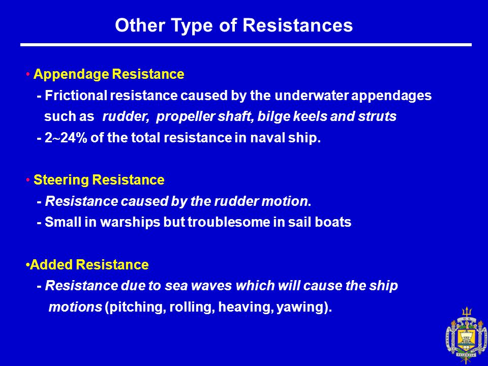 Other Type of Resistances