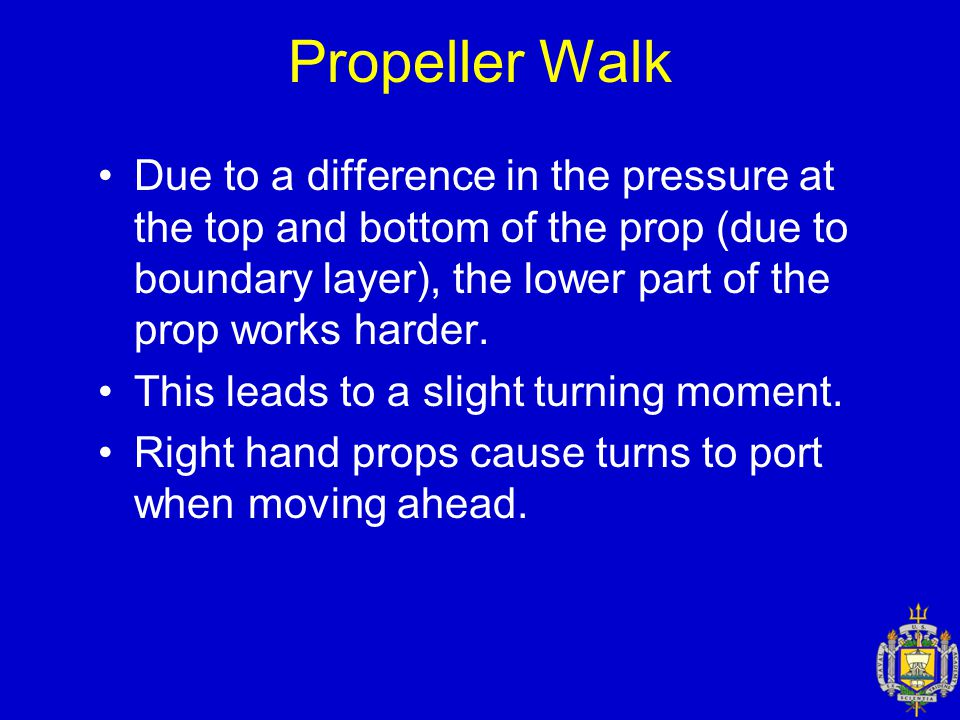 Propeller Walk
