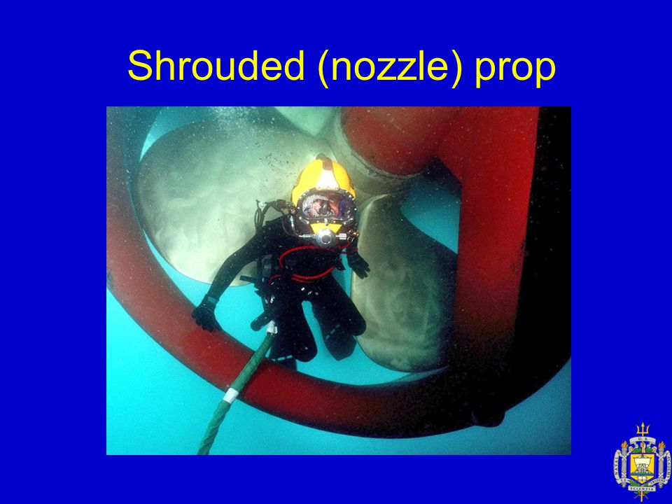 Shrouded (nozzle) prop
