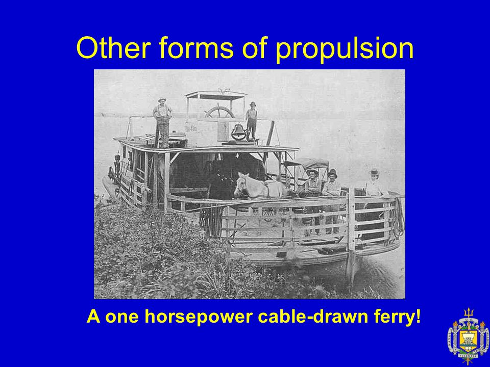 Other forms of propulsion