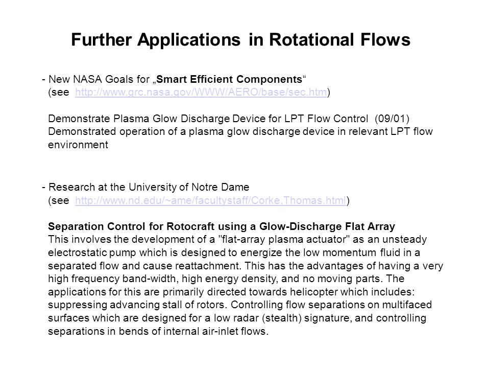 Further Applications in Rotational Flows