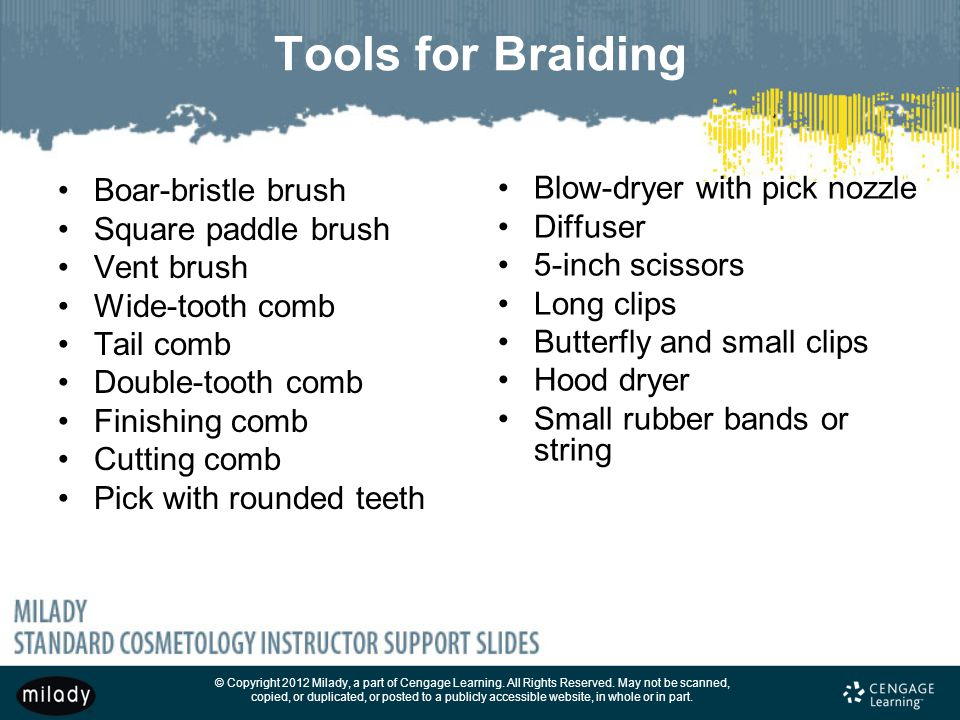 Tools for Braiding Boar-bristle brush Blow-dryer with pick nozzle