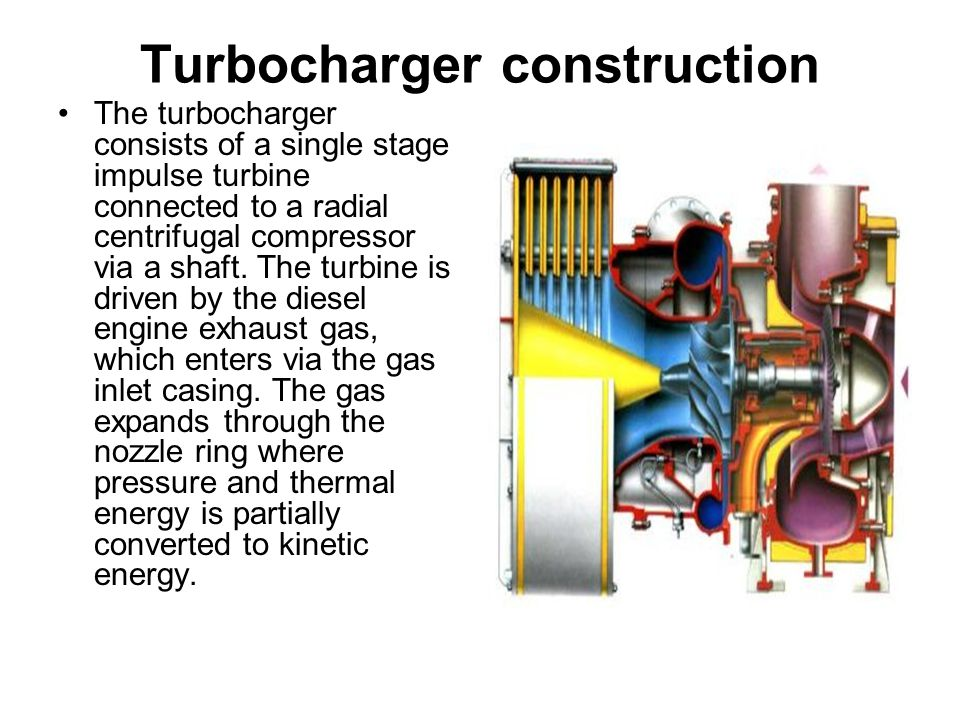 Turbocharger construction