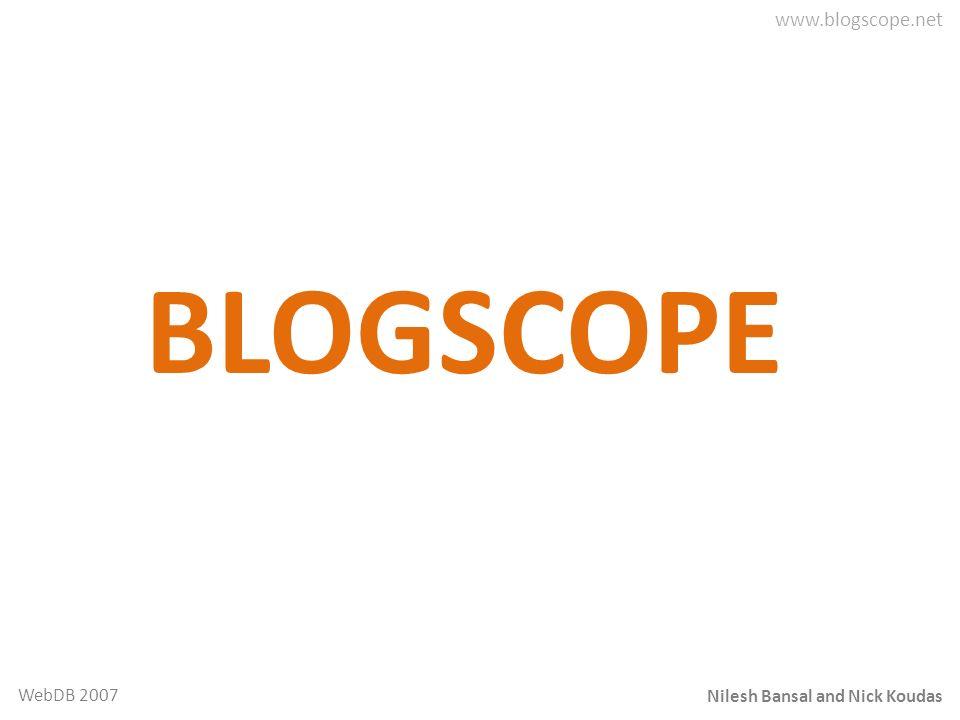 BLOGSCOPE