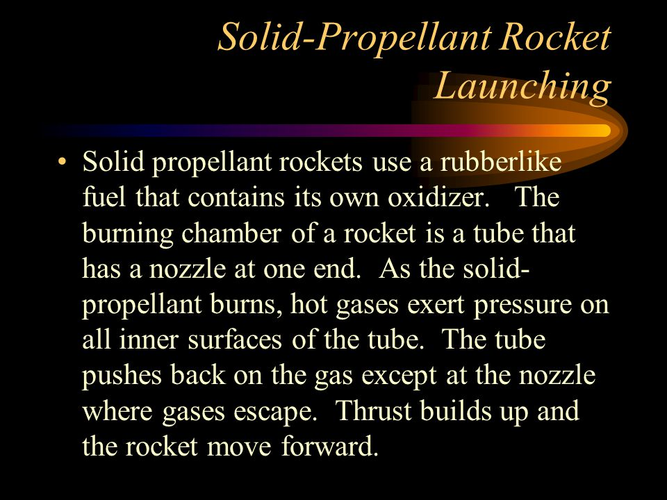 Solid-Propellant Rocket Launching