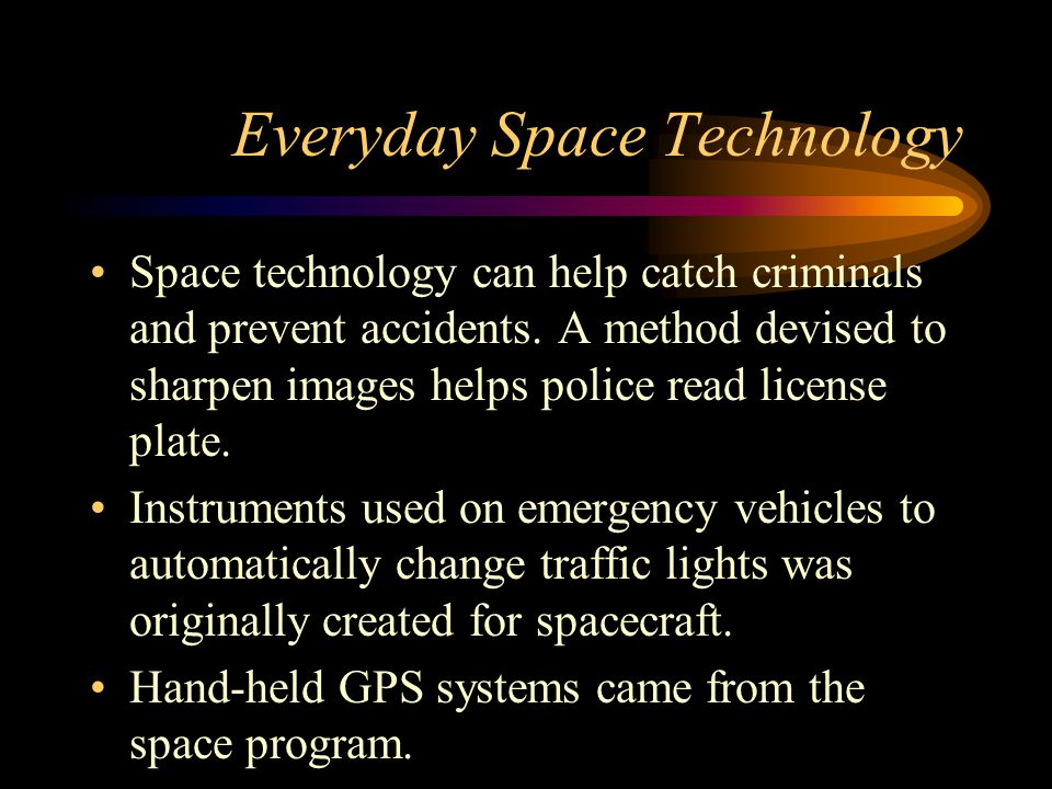 Everyday Space Technology