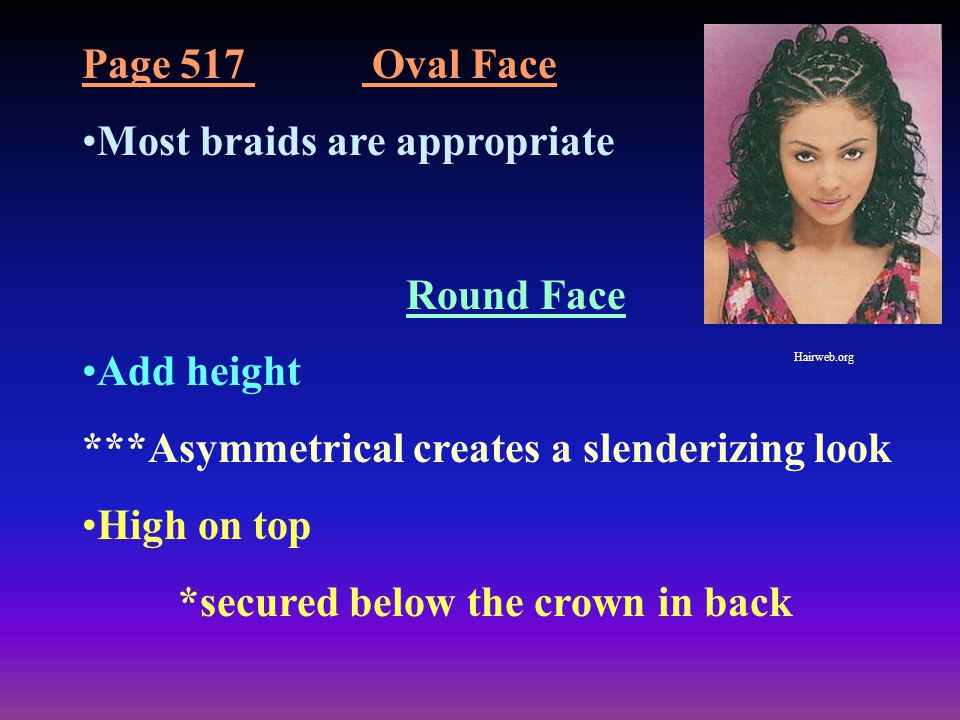 Most braids are appropriate