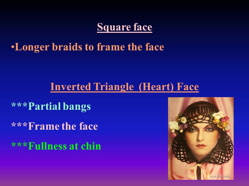 Inverted Triangle (Heart) Face