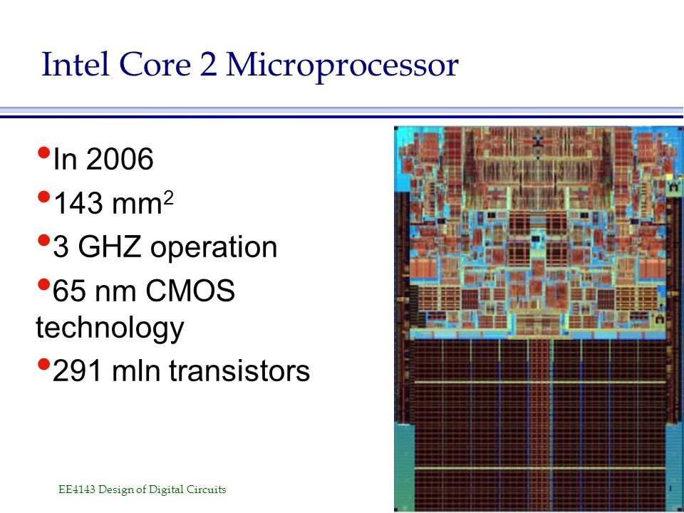 Intel Core 2 Microprocessor