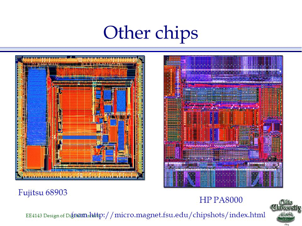 Other chips Fujitsu 68903 HP PA8000