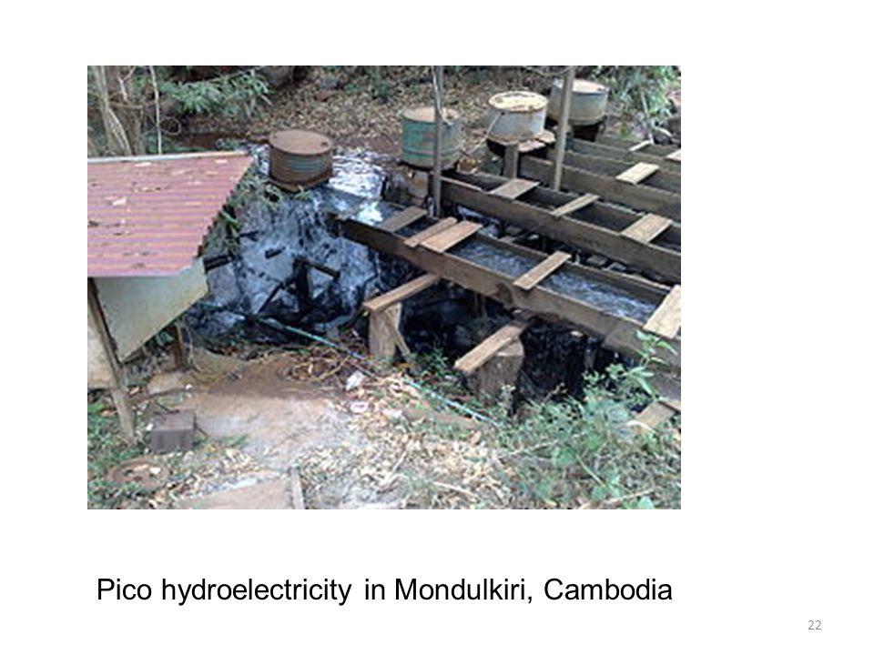 Pico hydroelectricity in Mondulkiri, Cambodia