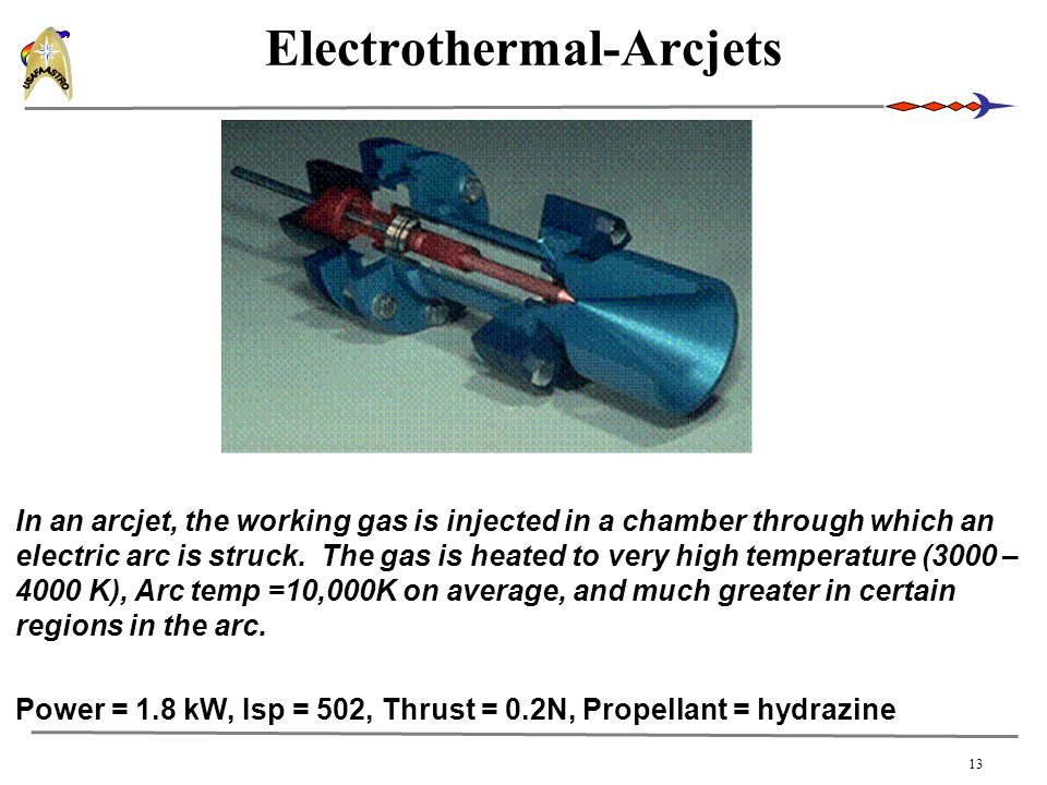 Electrothermal-Arcjets