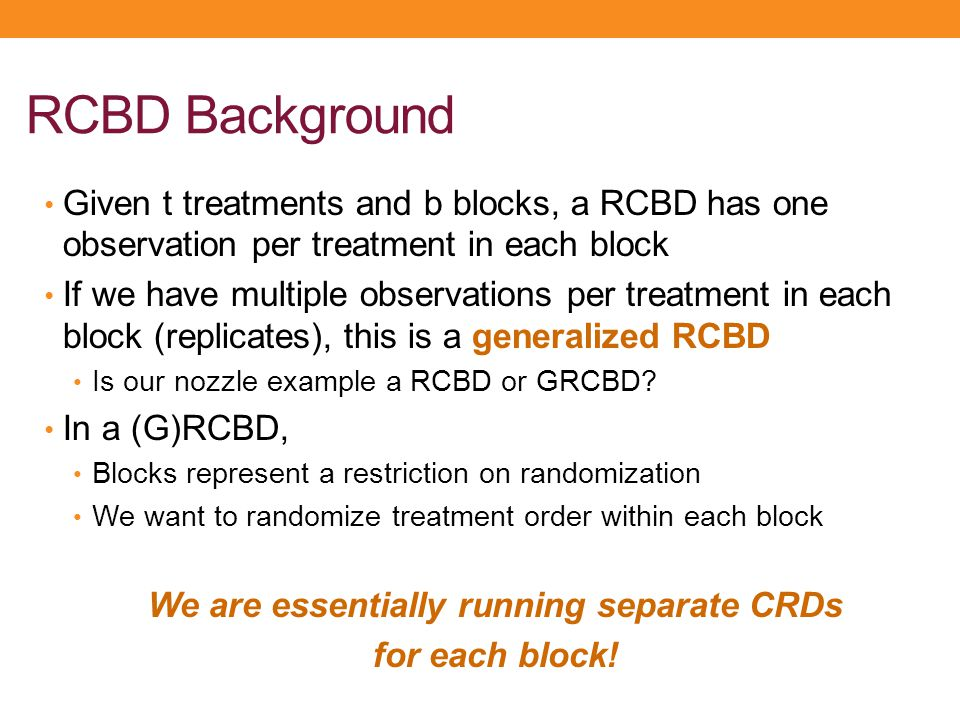 We are essentially running separate CRDs