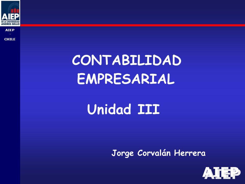 CONTABILIDAD EMPRESARIAL Unidad III