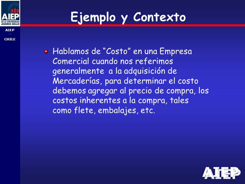 Ejemplo y Contexto