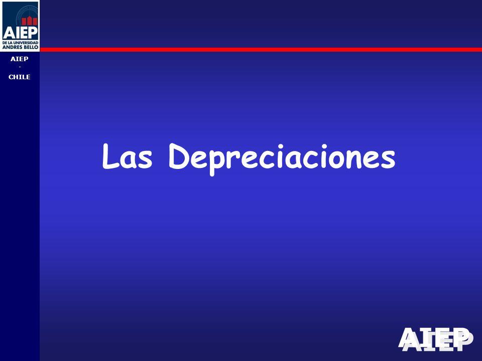 Las Depreciaciones