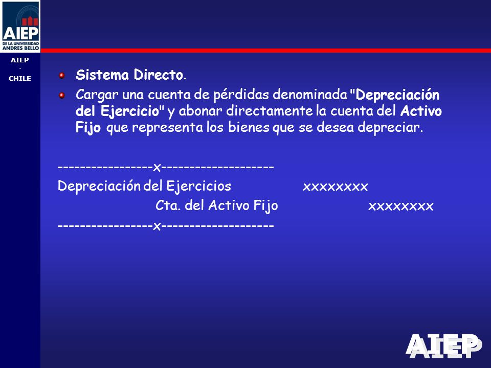 Sistema Directo.