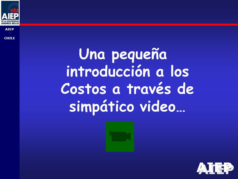 Una pequeña introducción a los Costos a través de simpático video…