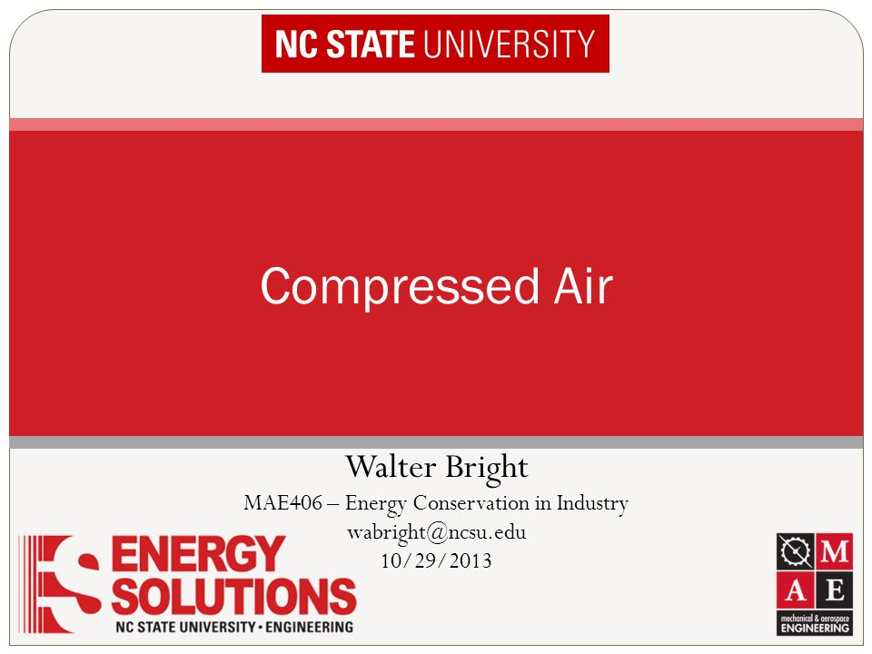 MAE406 – Energy Conservation in Industry