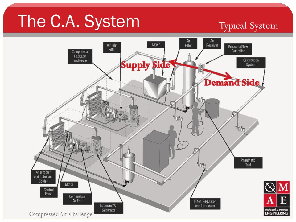 The C.A. System Typical System Supply Side Demand Side