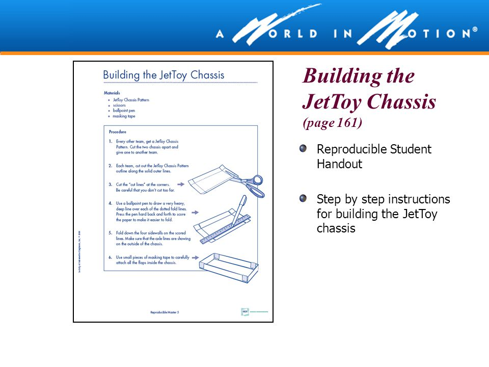 Building the JetToy Chassis (page 161)