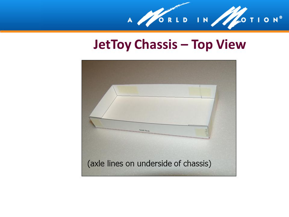 JetToy Chassis – Top View