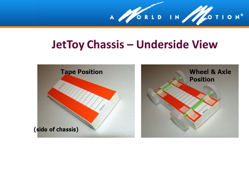 JetToy Chassis – Underside View
