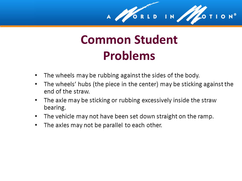 Common Student Problems