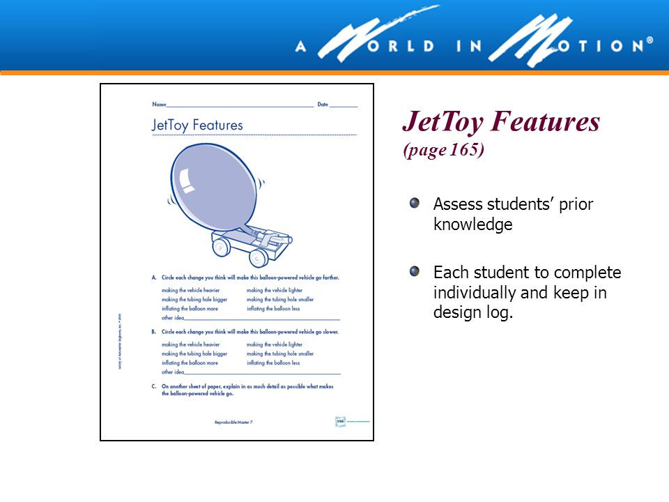 JetToy Features (page 165)