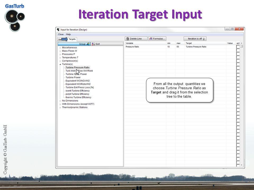 Iteration Target Input