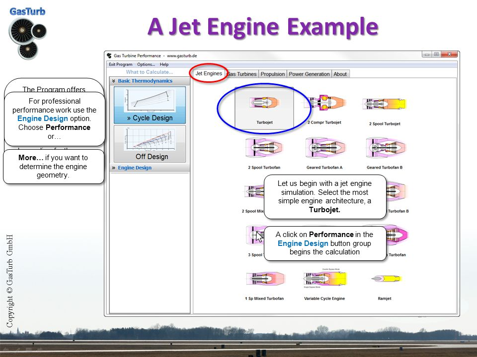 More… if you want to determine the engine geometry.