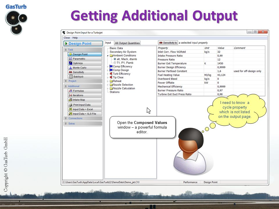 Getting Additional Output