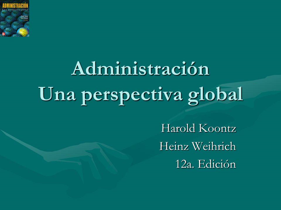 Administración Una perspectiva global