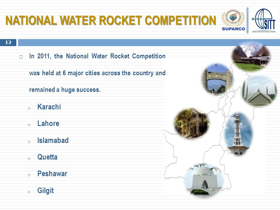 NATIONAL WATER ROCKET COMPETITION