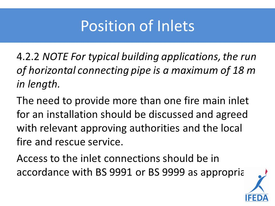 Position of Inlets
