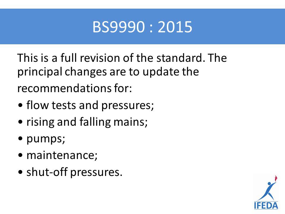 BS9990 : 2015