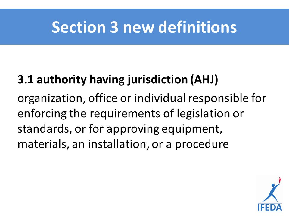 Section 3 new definitions