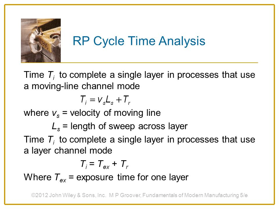 RP Cycle Time Analysis