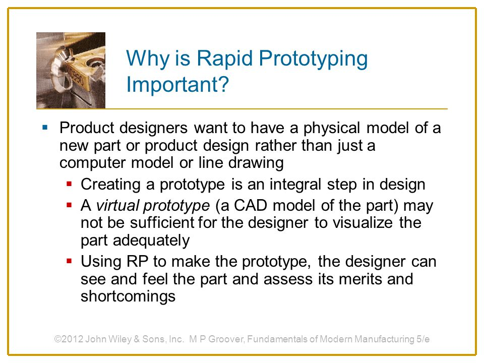 Why is Rapid Prototyping Important