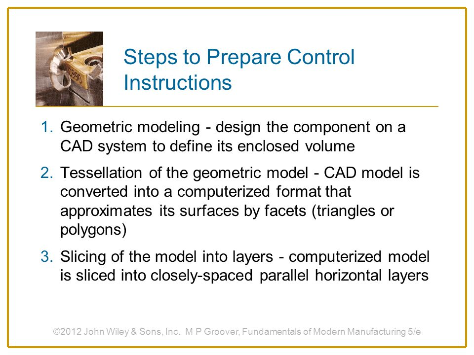 Steps to Prepare Control Instructions