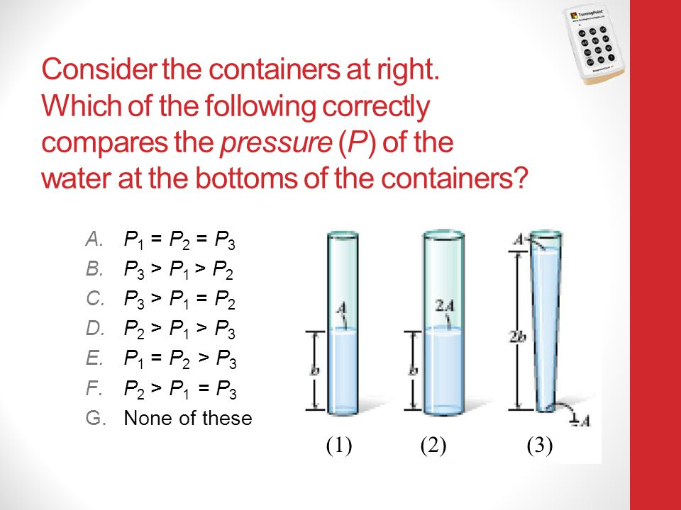 Consider the containers at right