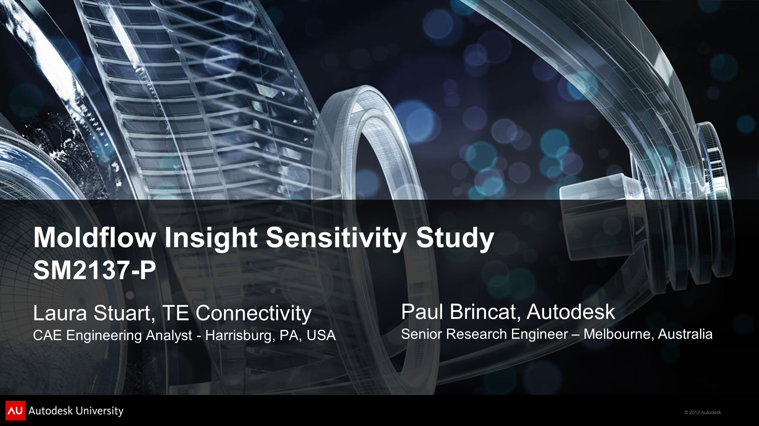 Moldflow Insight Sensitivity Study SM2137-P