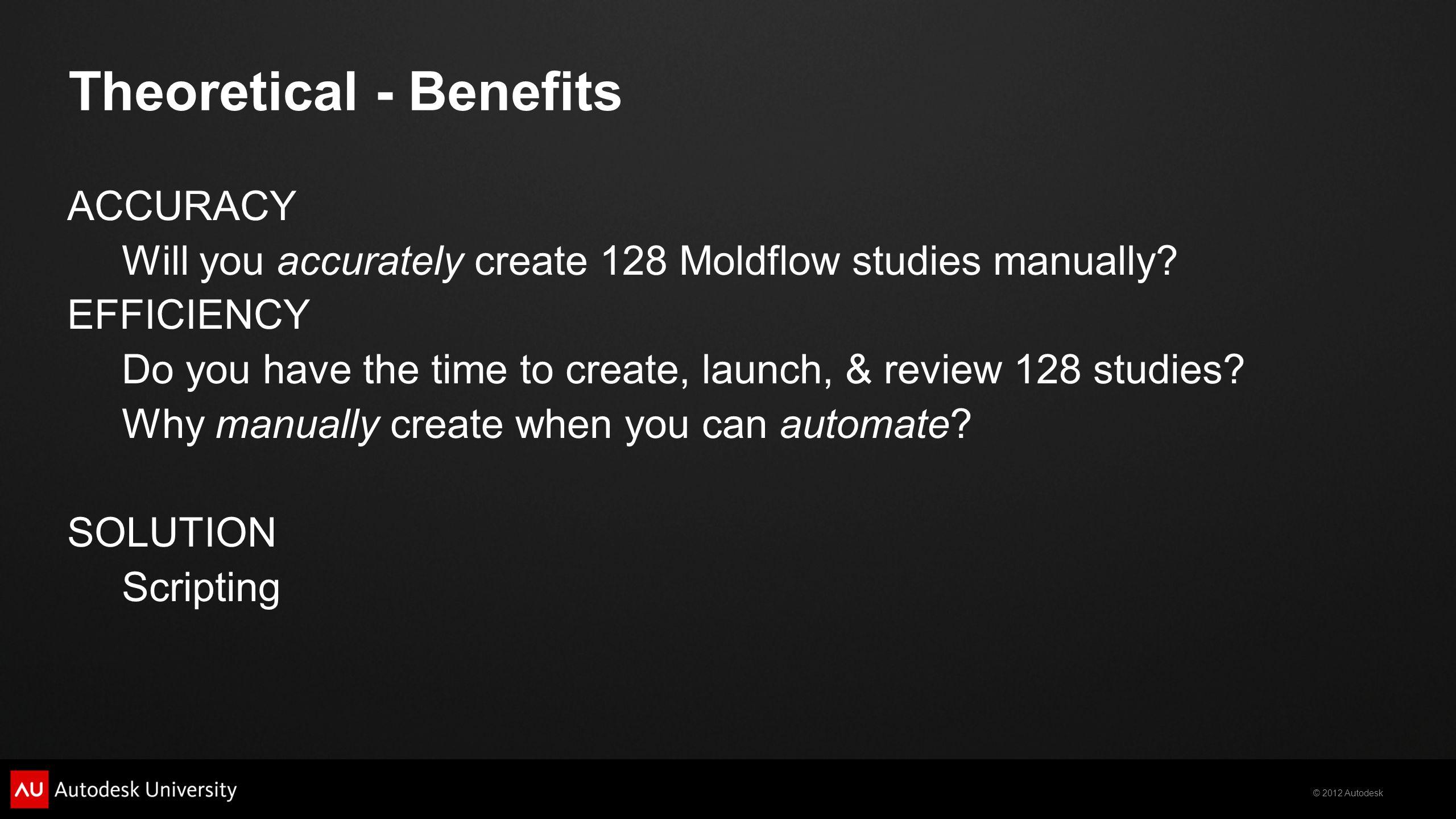 Theoretical - Benefits