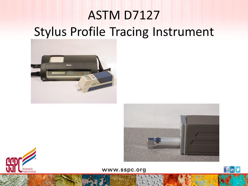ASTM D7127 Stylus Profile Tracing Instrument