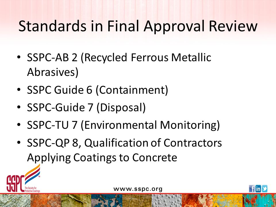 Standards in Final Approval Review