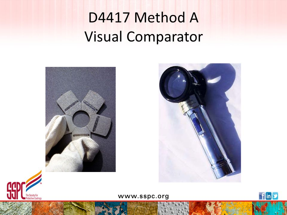 D4417 Method A Visual Comparator