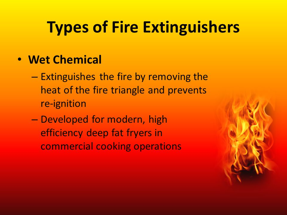 Types of Fire Extinguishers