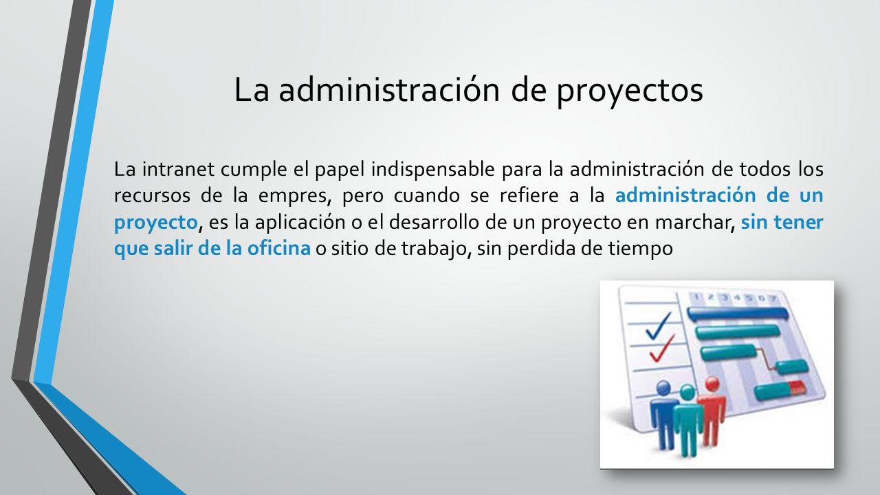 La administración de proyectos