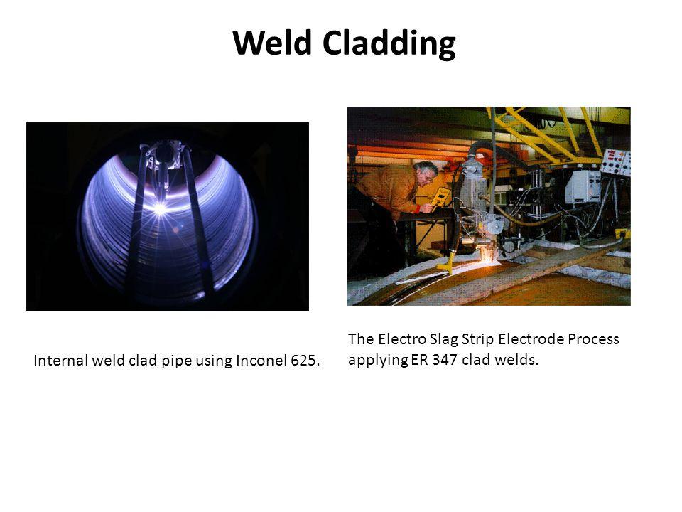 Weld Cladding The Electro Slag Strip Electrode Process applying ER 347 clad welds.
